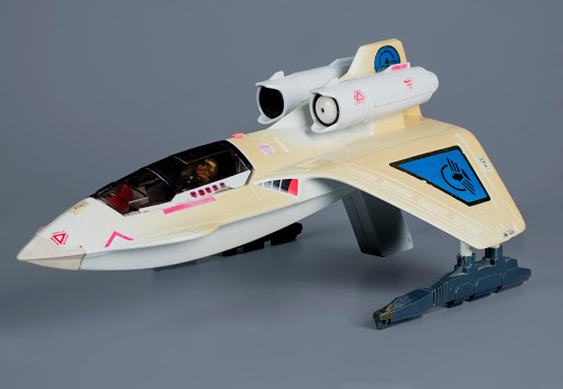 Action figure:Christy Marx's Captain Power Powerjet XT-7