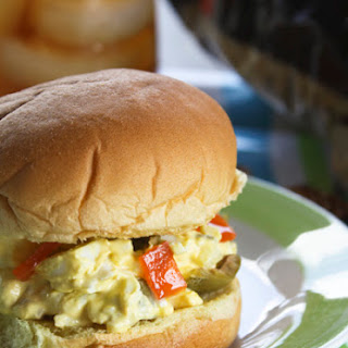 Dolores's Egg and Olive Sandwiches