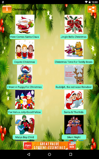 Christmas Songs for Kids Apk Download Free for PC, smart TV