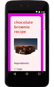 Chocolate Recipes screenshot 6