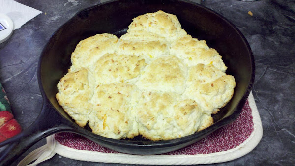 Cheesy Skillet Biscuits By Susan Recipe