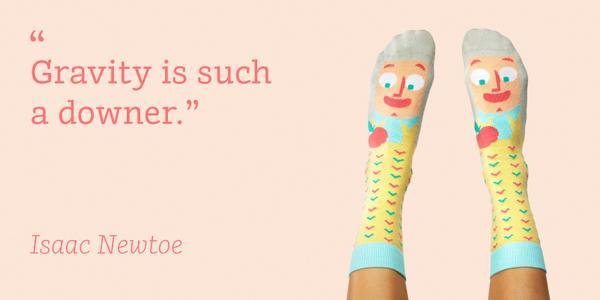 Educative sock joke
