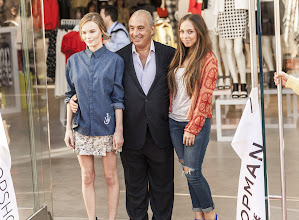 Photo: Kate Bosworth, Phillip Green and Chloe Green at the opening.  Shop LA Style > http://bit.ly/XbGtM6