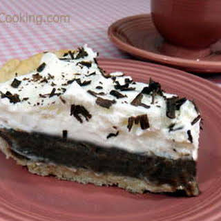 Luby's Chocolate Icebox Pie.
