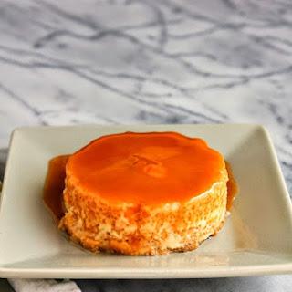 Pumpkin Caramel Flan.