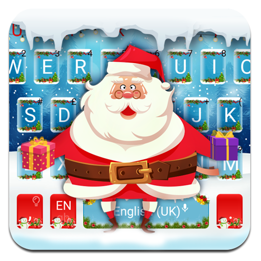 Cute Christmas Santa Keyboard Theme