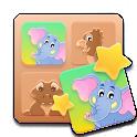 Animaux jeu de mémoire icon