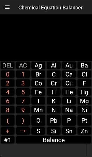 Chemistry Calculator - Chemical Equation Balancer 1.7 screenshots 1