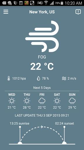 iPhoneの数ある天気アプリの中で「そら案内」がオススメ!超絶使い ...