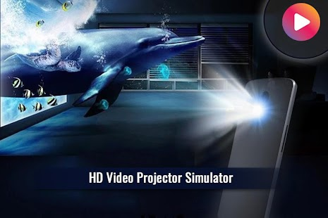 HD Video Projector Simulator - náhled
