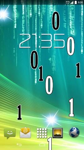 android Matrix HD Live Wallpaper Screenshot 2