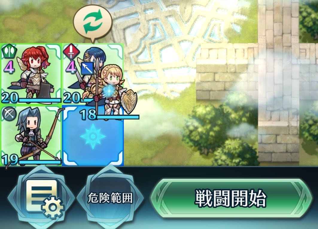 [Fire Emblem Heroes] อัพเดทระบบเกมเดือนเมษายน สามารถเลือกตำแหน่งตัวละครก่อนสู้ได้แล้ว!