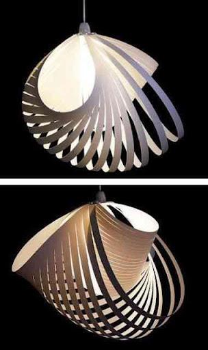DIYのクリエイティブランプデザイン
