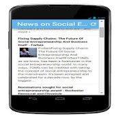 News - social entrepreneurship
