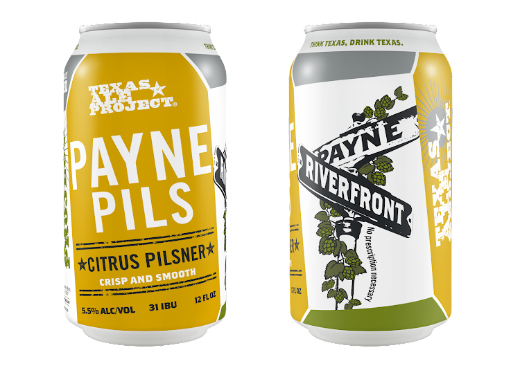 Logo of Texas Ale Project Payne Pils
