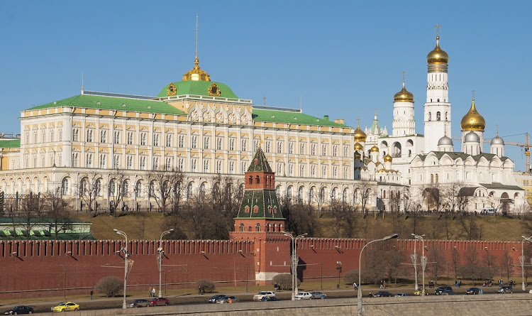 The Kremlin in Moscow, Russia. Picture: ISTOCK