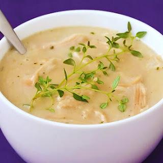 44-Clove Garlic (and Chicken) Soup Recipe