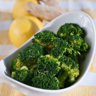 Lemon-Ginger Broccoli