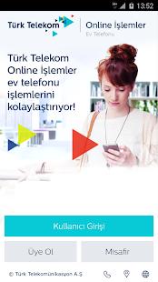 Online İşlemler – Ev Telefonu - náhled