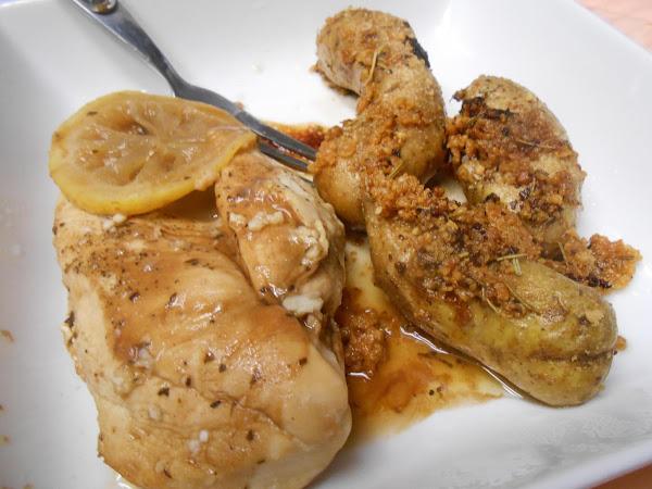 Lemon & Garlic Chicken Recipe