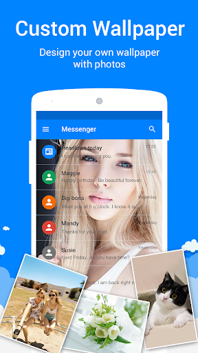 Messenger for SMS  screenshots 4