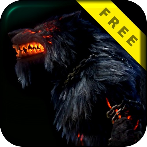 Evil Fire Wolf Live Wallpaper
