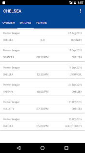 Chelsea Calendar- screenshot thumbnail