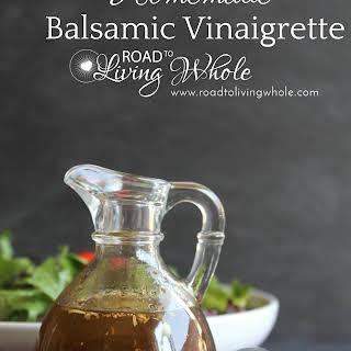 Balsamic Vinaigrette Dressing.