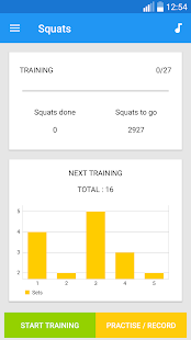 Squats Workout - náhled