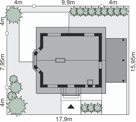 Dom przy Imbirowej 2 - Sytuacja