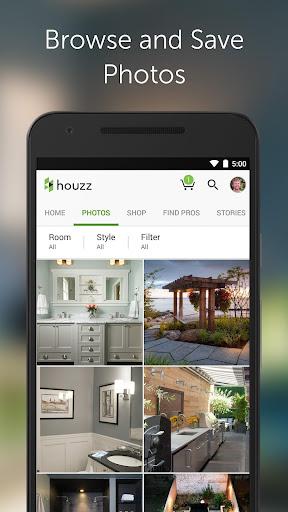 Houzz Interior Design Ideas app (apk) free download for Android/PC/Windows screenshot