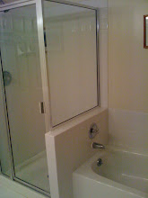 Photo: Separate tub and shower with handheld nozzle