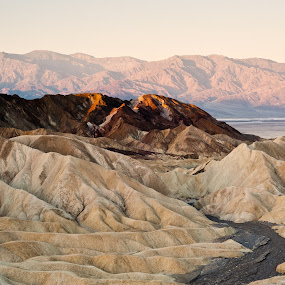 Death Valley NP by sunrise by Boyd Hendrikse - Landscapes Mountains & Hills ( death valley, nature )