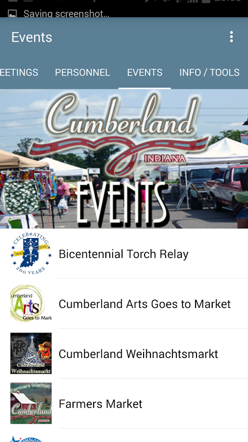 Cumberland Connected- screenshot