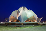 The Lotus Temple in New Delhi, India, was the inspiration behind the design of the record-breaking ring.