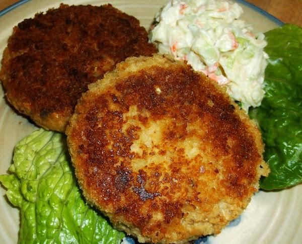 Panko Salmon Patties Recipe