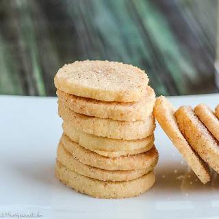 Cinnamon Dusted Orange Icebox Cookies.