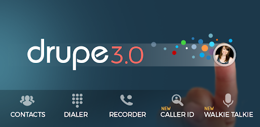 Contacts Phone Dialer: drupe for PC