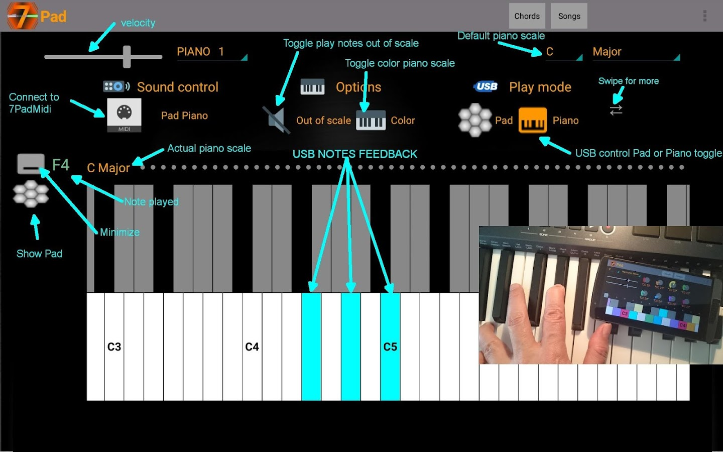7pad chords and scales android apps on google play 7pad chords and scales screenshot hexwebz Gallery