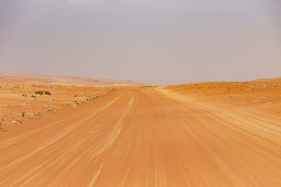 Oman, pustynia, samochód
