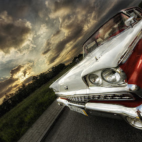 Fairlane by Matthias Weigel - Transportation Automobiles ( fairlane, hdr, sunset, hotrod, oldtimer, ford )