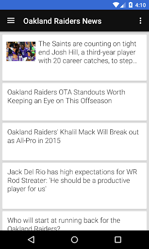 BIG Oakland Football News