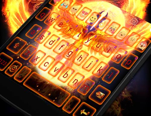 玩免費遊戲APP|下載Phoenix Eva Keyboard -DIY Gifs app不用錢|硬是要APP