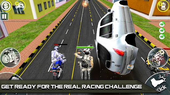 Bike Attack Race 2 - Shooting apk screenshot 7