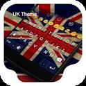 UK Theme -Kitty Emoji Keyboard icon