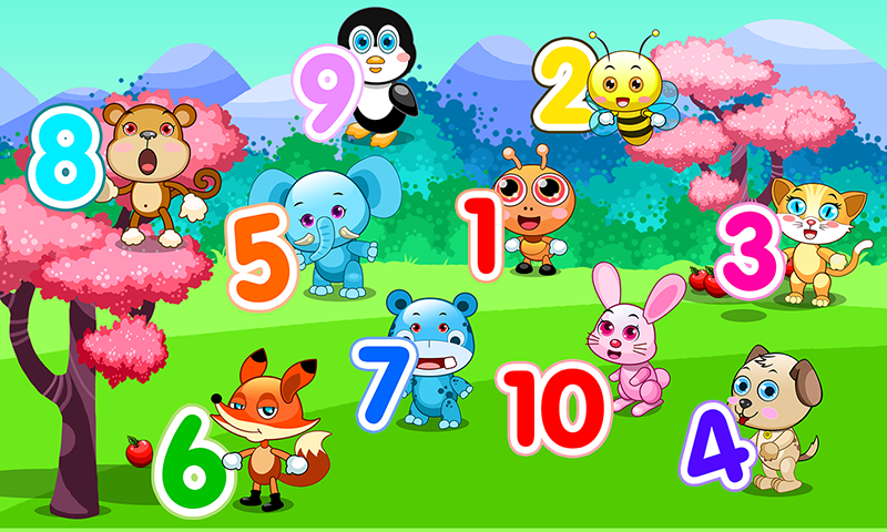 game for kids counting 123 screenshot - Picture For Kids
