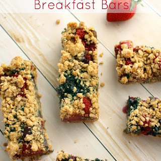 Triple Berry Oatmeal Breakfast Bars - one of my best Oatmeal Recipes!