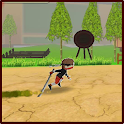 Ninja Zombie fighter icon