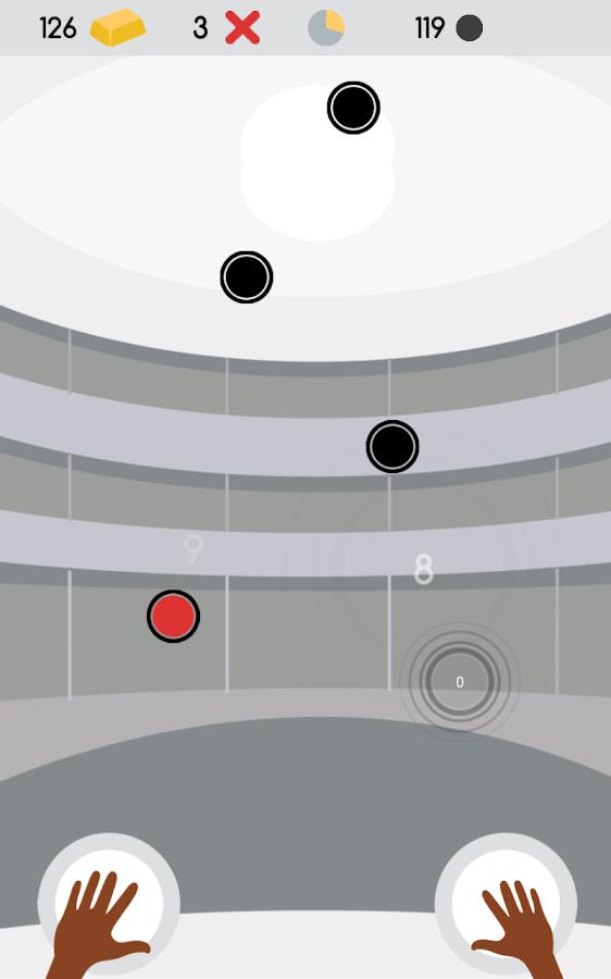Percussion: rhythmic tap tap - screenshot