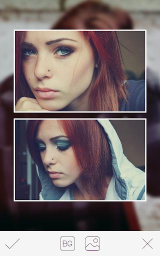 Blured Photo Collage